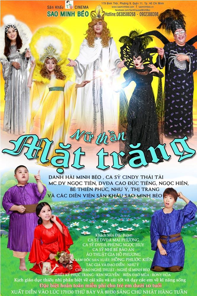 Sân khấu Sao Minh Béo lần đầu công diễn kịch thiếu nhi