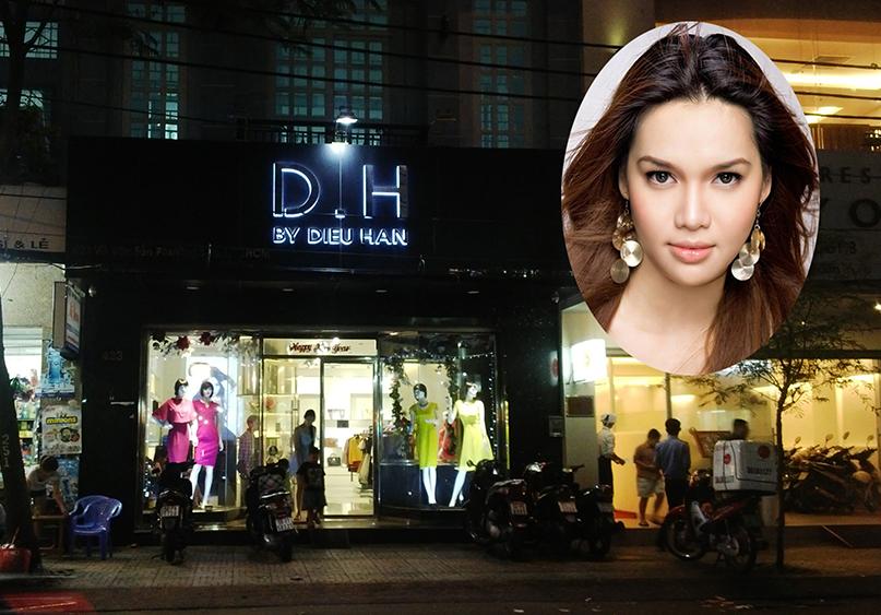 Hoa hậu Diệu Hân bị đánh ghen vì dan díu với ông chủ nhà