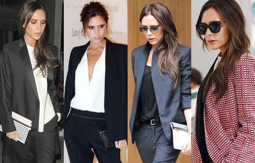 Bộ sưu tập suit sang trọng, đẳng cấp của Victoria Beckham
