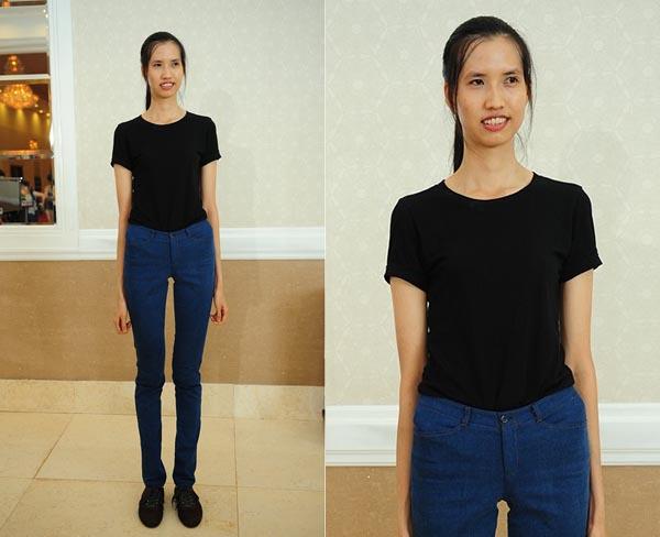 Cô gái cao 1,9 m nổi bật giữa dàn thí sinh Next Top Model