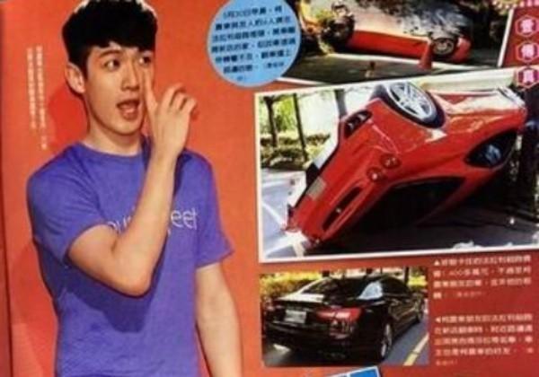 Kha Chấn Đông phủ nhận bị tai nạn cùng xe Ferrari
