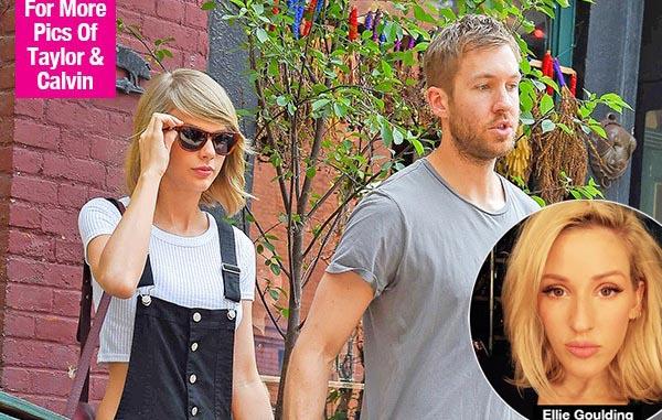 Taylor Swift quen Calvin Harris nhờ bạn thân