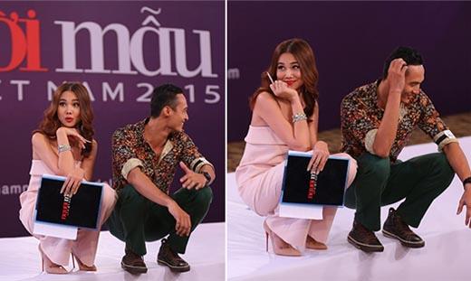 """VietNam's Next Top Model - Chàng tài xế taxi tán tỉnh Thanh Hằng bằng """"mỹ nam kế"""""""