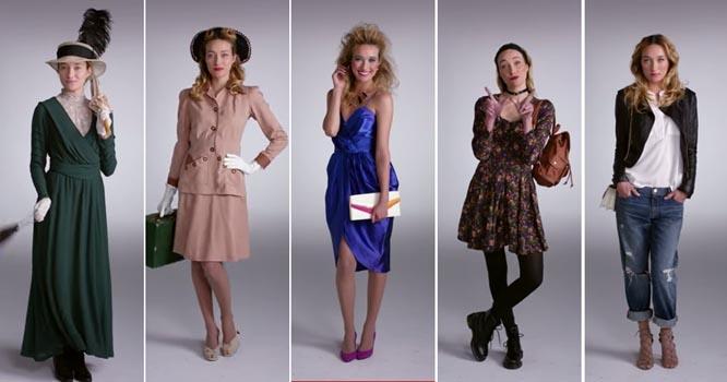 Thời trang biến đổi thế nào trong 100 năm?