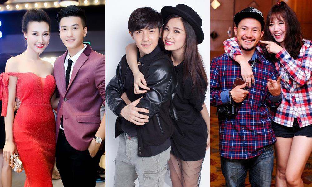 Những cặp đôi nghệ sĩ hot nhất showbiz Việt