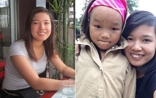 Cô gái mồ côi làm ô sin lấy tiền từ thiện