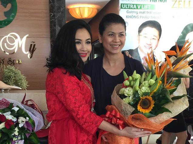 Thanh Lam quý mến vợ mới của nhạc sĩ Quốc Trung