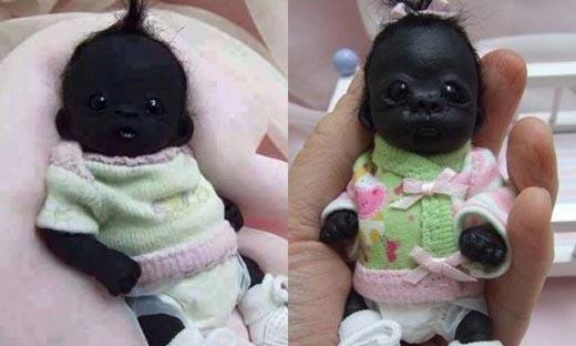 Sự thật gây bàng hoàng về em bé châu Phi đen nhất thế giới