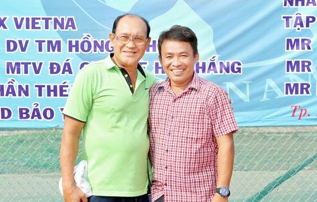 Duy Phương, Thanh Dũng tham dự giải quần vợt từ thiện