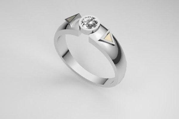 Cầu hôn vợ bằng nhẫn làm từ xương của chính mình