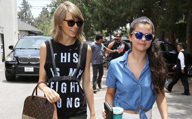 Taylor Swift và Selena Gomez hẹn hò ăn trưa thân thiết