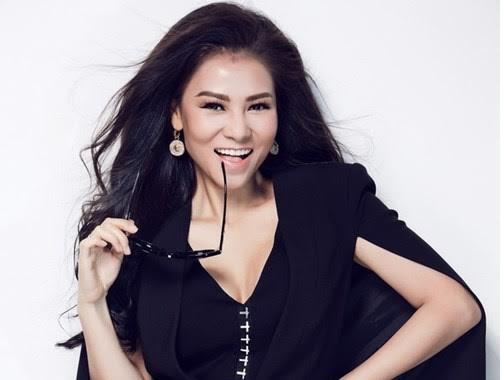 3 tuần sau sinh, Thu Minh trở lại 'ghế nóng' Vietnam Idol