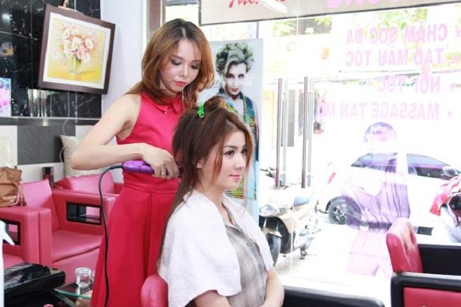 Vì sao Kha Ly và Thanh Duy chọn Thương Bella để làm tóc?