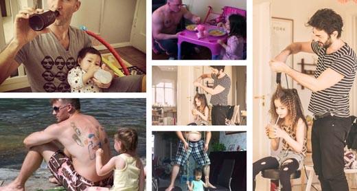 """19 khoảnh khắc vui đùa đáng yêu giữa bố và """"cô tình nhân bé nhỏ"""" có tên Con Gái"""