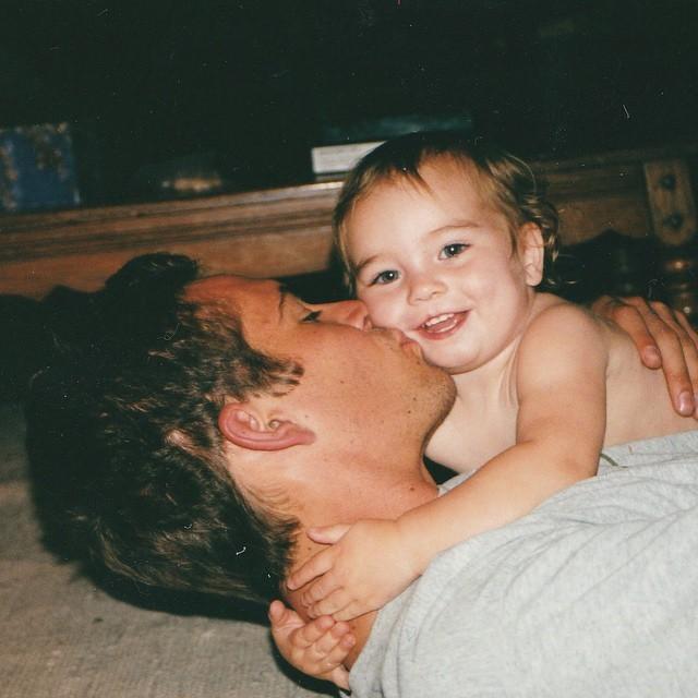 Con gái Paul Walker đăng ảnh hiếm của cha