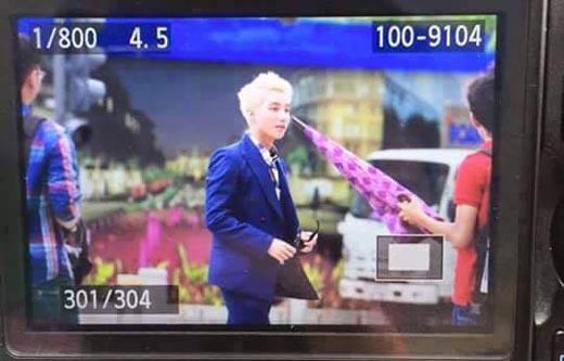 """Fan phát cuồng với tóc bạch kim """"nổi bần bật"""" của Sơn Tùng khi quay MV mới"""