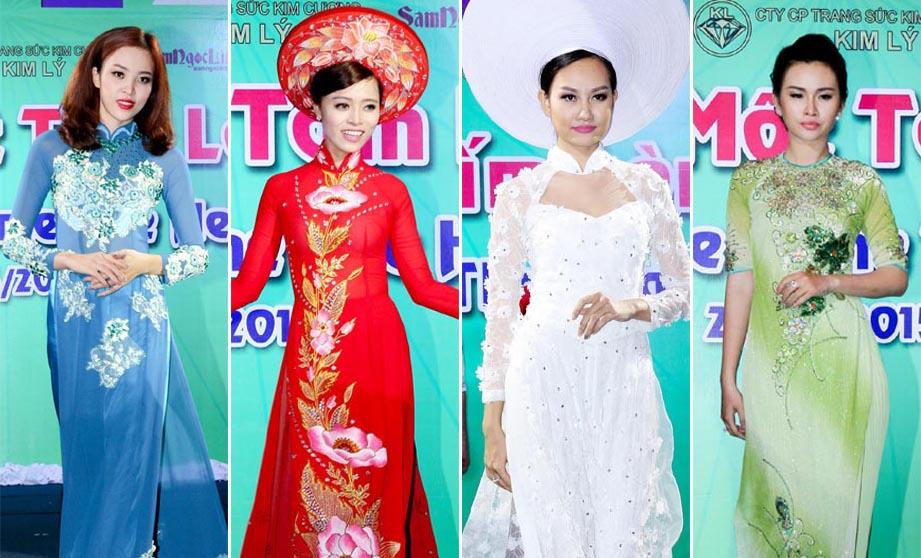 """Thiết kế áo dài trong BST """"Huyền thoại"""" của NTK Tommy Nguyễn"""
