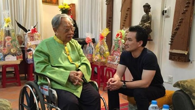 Tùng Dương, Mr. Đàm đau xót khi G.S Trần Văn Khê qua đời