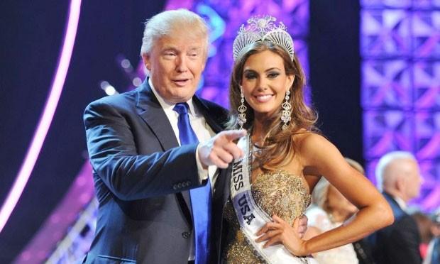 Cuộc thi Hoa hậu Mỹ lao đao vì Donald Trump