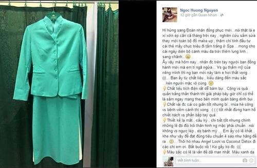 """Dân mạng lại """"khóc ròng"""" với đồng phục mới xấu tệ của Vietnam Airlines"""