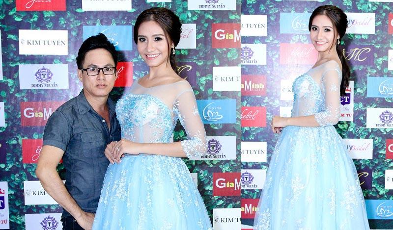 Dương Hiểu Ngọc như nàng công chúa với áo cưới Tommy Nguyễn