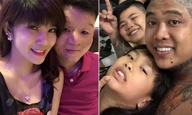 Ngày Gia đình của các cặp vợ chồng nổi tiếng trên mạng
