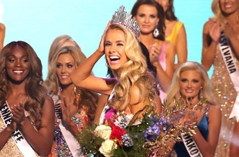 Người đẹp 26 tuổi giành ngôi Hoa hậu Mỹ