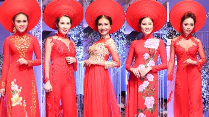 Cô dâu lộng lẫy với BST Áo dài cưới Tommy Nguyễn