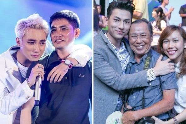 Ấm áp với những khoảnh khắc hạnh phúc của sao Việt bên bố
