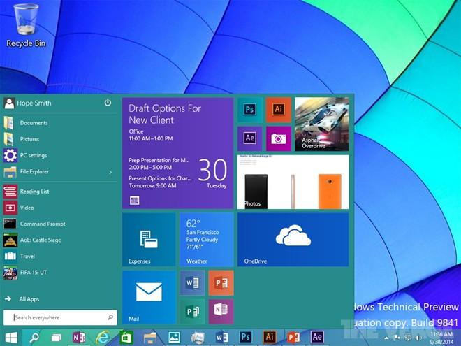 Microsoft đã hoàn thiện Windows 10, đưa vào sản xuất