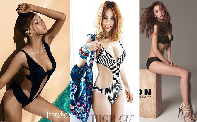 Mãn nhãn trước loạt ảnh mỹ nhân Kpop khoe dáng ngọc với bikini