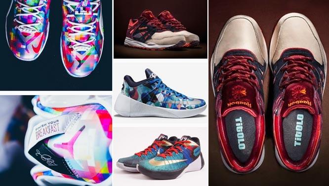 Vòng quanh thế giới điểm danh những mẫu giày mới ra mắt trong tháng 7