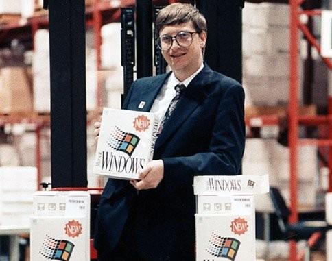 20 hình ảnh lịch sử của Microsoft