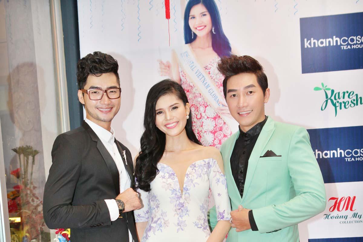 Nam Phong, Đàm Thanh tham dự tiệc mừng Á hậu Biển Xanh Toàn Cầu Kim Nguyên