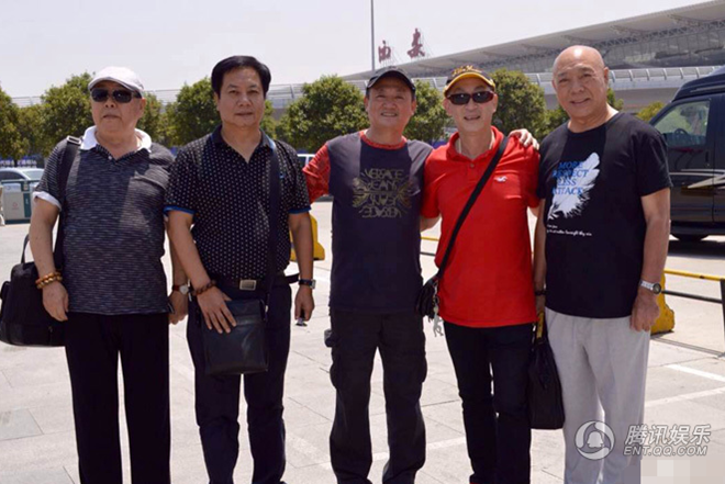 4 thầy trò Đường Tăng tái ngộ 'Hoàng thượng' sau nhiều năm