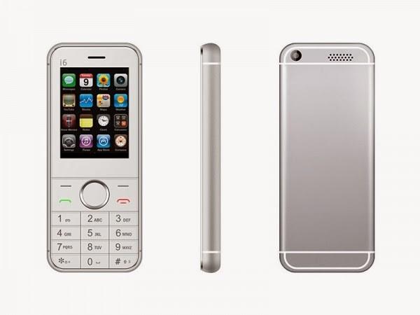 Điện thoại cơ bản nhái iPhone 6 giá 550.000 đồng ở Sài Gòn