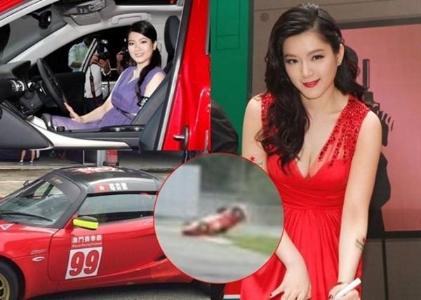 Kiều nữ TVB hết thời vì béo phì gặp tai nạn trên phim trường