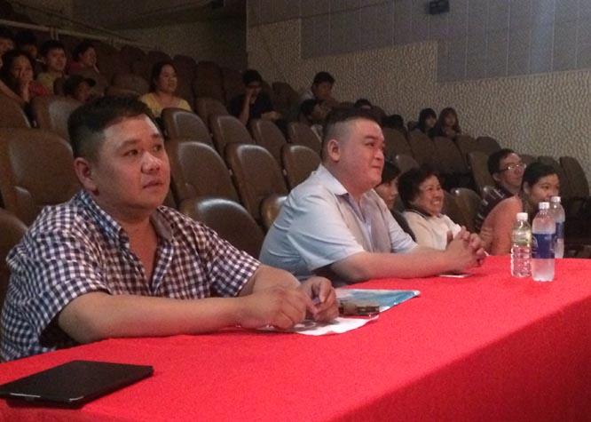 Sân Khấu sao Minh Béo tổ chức tốt nghiệp học viên khóa 5