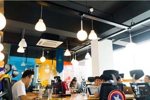 Văn phòng công ty công nghệ Việt đẹp như Google, Facebook