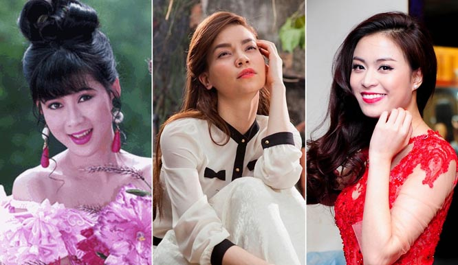 Vẻ đẹp của ba thế hệ nhan sắc Việt thay đổi thế nào?