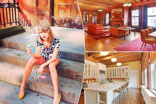 Căn hộ cao cấp trị giá 20 triệu USD của Taylor Swift
