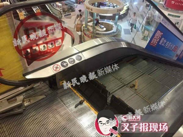 Công nhân bị mất 1 chân vì bị kẹt trong thang cuốn