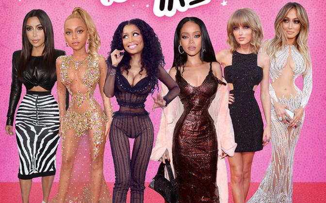 Ngỡ ngàng trước phiên bản búp bê Barbie của sao Hollywood