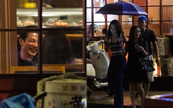 Angela Phương Trinh thân mật đi ăn tối cùng Trần Bảo Sơn