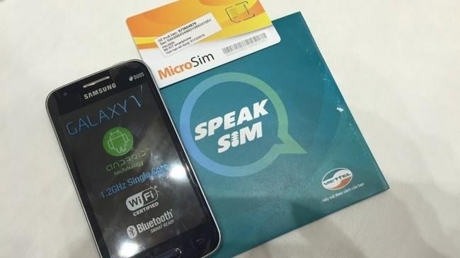 Sim điện thoại đặc biệt cho người khiếm thị