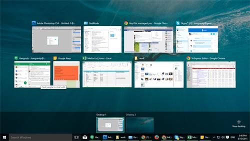 Những tổ hợp phím tắt hữu dụng trên Windows 10