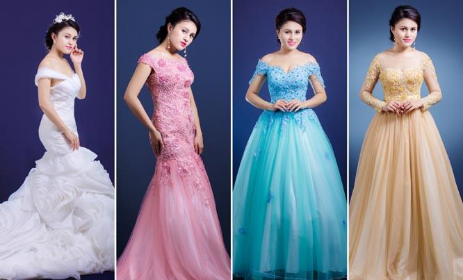 """Thái Thảo Trinh """"háo hức"""" làm cô dâu với váy cưới Tommy Nguyễn"""