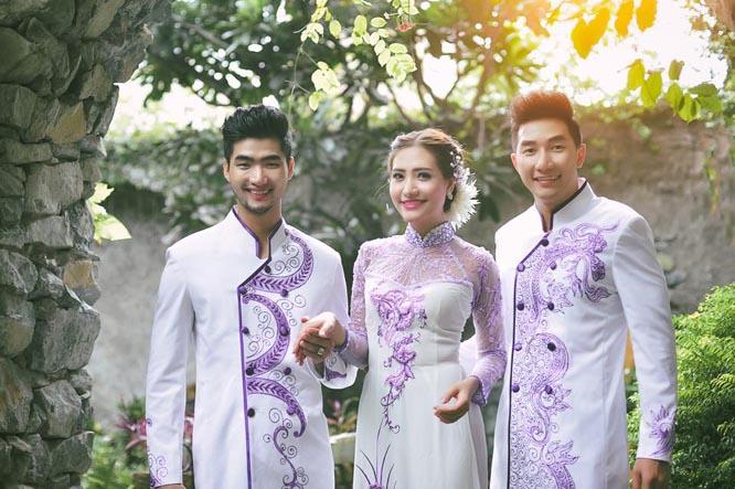 Áo cưới Tommy Nguyễn cho cặp đôi vẻ đẹp thanh thoát và mạnh mẽ trong ngày cưới
