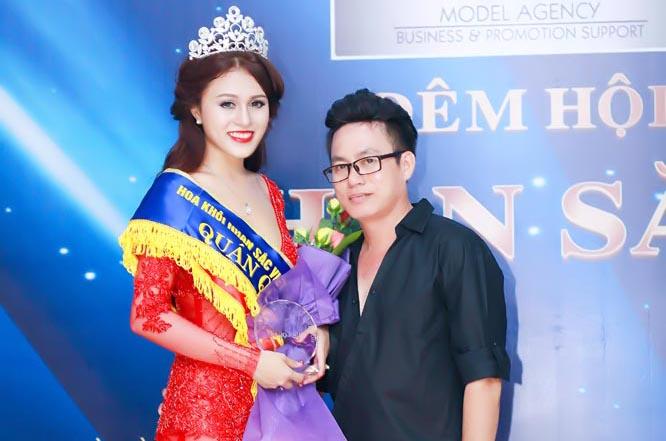 """Thí sinh Thái Thảo Trinh giành """"cú đúp"""" trong cuộc thi nhan sắc"""