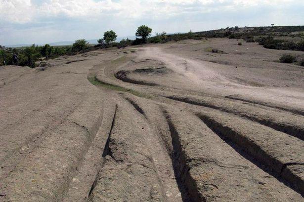 Thấy dấu vết người tiền sử lái xe địa hình 12 triệu năm trước?